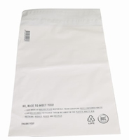 250 x 350 mm - 65my - wit - gerecycled
